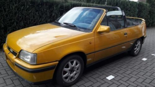 verkauft opel kadett e cabrio edition gebraucht 1991 177. Black Bedroom Furniture Sets. Home Design Ideas