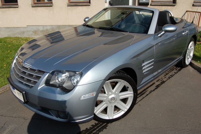 verkauft chrysler crossfire roadster a gebraucht 2004 km in leipzig. Black Bedroom Furniture Sets. Home Design Ideas