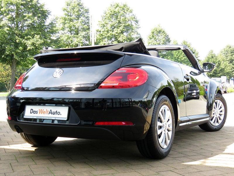 verkauft vw beetle cabriolet 1 2 tsi gebraucht 2016 km in viersen. Black Bedroom Furniture Sets. Home Design Ideas