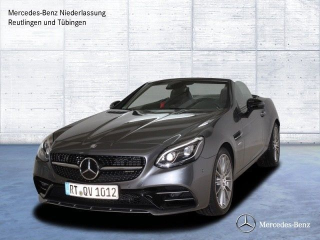 verkauft mercedes slc43 amg memory dis gebraucht 2017 3. Black Bedroom Furniture Sets. Home Design Ideas