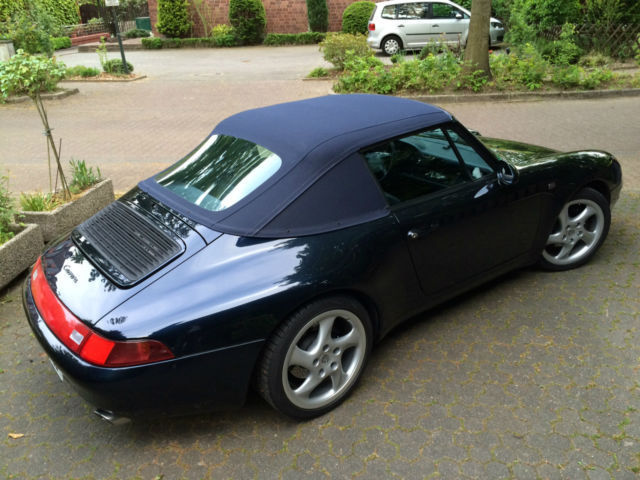verkauft porsche 911 carrera cabriolet gebraucht 1996 km in gelsenkirchen. Black Bedroom Furniture Sets. Home Design Ideas