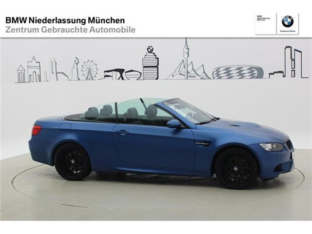 verkauft bmw m3 cabriolet dkg individ gebraucht 2012 km in m nchen fr ttmaning. Black Bedroom Furniture Sets. Home Design Ideas
