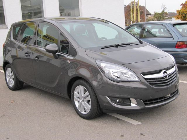 verkauft opel meriva 1 4 automatik edi gebraucht 2016 531 km in singen. Black Bedroom Furniture Sets. Home Design Ideas