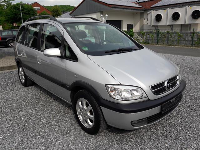 verkauft opel zafira 1 8 elegance 7x s gebraucht 2003 km in halle westfalen. Black Bedroom Furniture Sets. Home Design Ideas