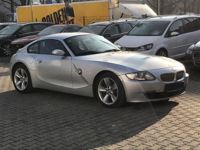 verkauft bmw z4 coupe nachtblau gebraucht 2008 km in rosenheim. Black Bedroom Furniture Sets. Home Design Ideas