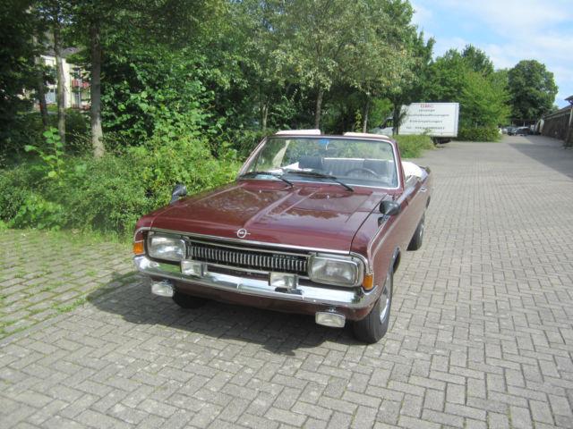 verkauft opel rekord c deutsch cabrio gebraucht 1968 km in vellmar. Black Bedroom Furniture Sets. Home Design Ideas