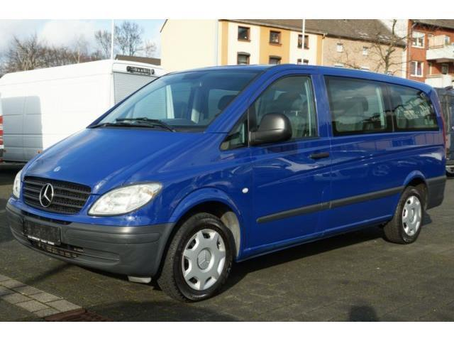gebraucht 115 cdi lang euro 4 8 sitzer mercedes vito 2006 km in d sseldorf. Black Bedroom Furniture Sets. Home Design Ideas