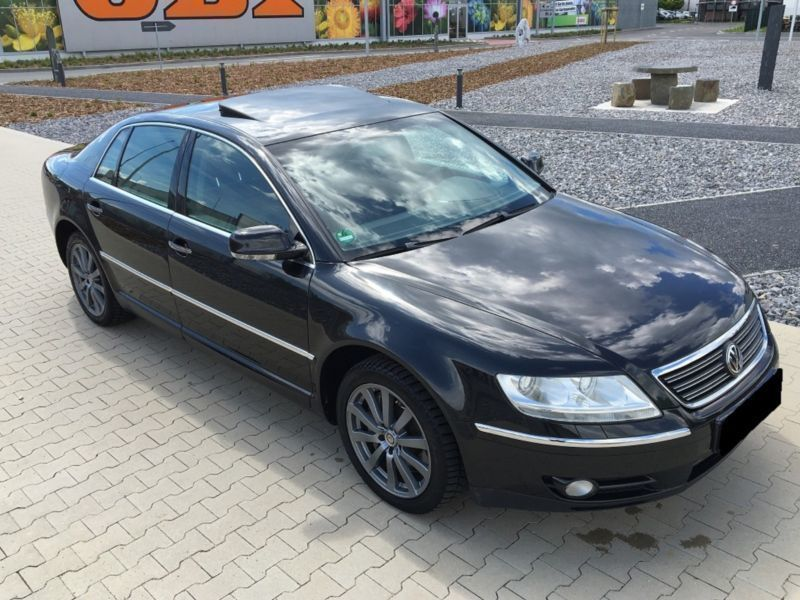 verkauft vw phaeton 3 0 v6 tdi dpf 4mo gebraucht 2007. Black Bedroom Furniture Sets. Home Design Ideas