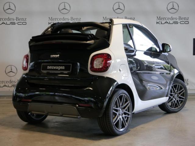 verkauft smart fortwo cabrio 66kw turb gebraucht 2017 km in flensburg. Black Bedroom Furniture Sets. Home Design Ideas