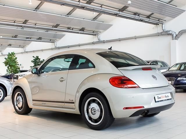verkauft vw beetle 1 2 tsi cup xenon l gebraucht 2014. Black Bedroom Furniture Sets. Home Design Ideas