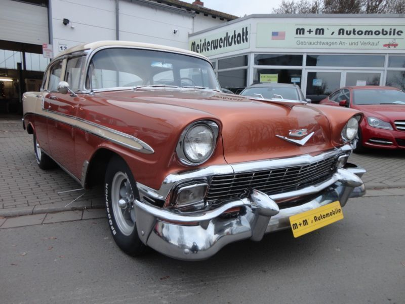 verkauft chevrolet bel air automatik v gebraucht 1956 km in neuhofen. Black Bedroom Furniture Sets. Home Design Ideas