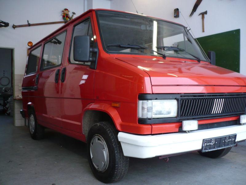 Onwijs Verkauft Fiat Ducato 290 P Diesel D Pa., gebraucht 1992, 68.000 km WJ-54