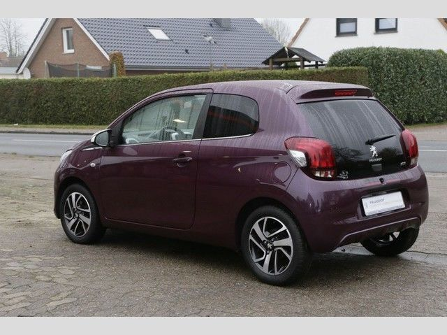 verkauft peugeot 108 1 2 vti puretech gebraucht 2014 km in merzig. Black Bedroom Furniture Sets. Home Design Ideas