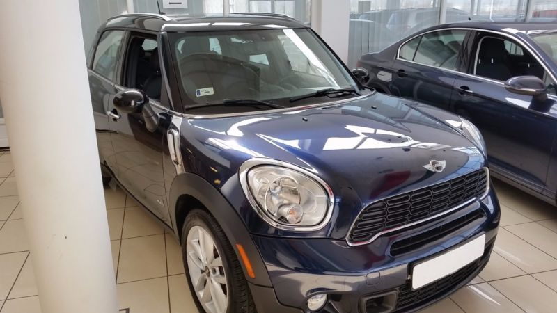 verkauft mini cooper s countryman all4 gebraucht 2015 km in pocking. Black Bedroom Furniture Sets. Home Design Ideas