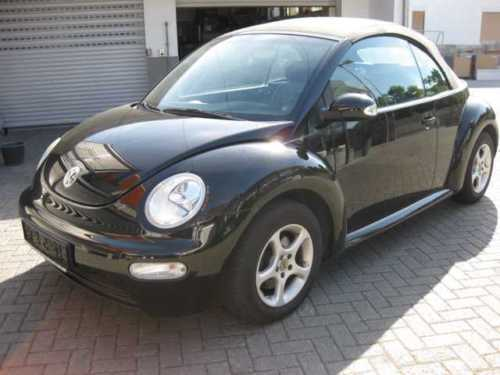 verkauft vw beetle newcabriolet 1 6 le gebraucht 2003. Black Bedroom Furniture Sets. Home Design Ideas