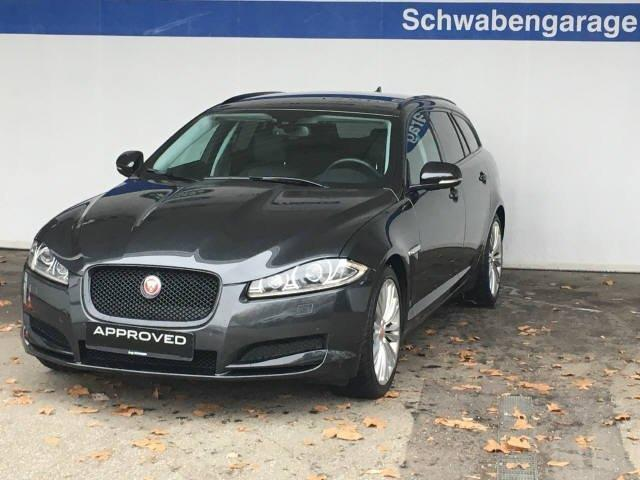 verkauft jaguar xf sportbrake 3 0 v6 d gebraucht 2014. Black Bedroom Furniture Sets. Home Design Ideas