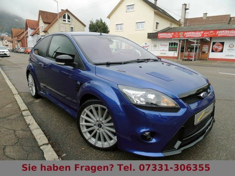 verkauft ford focus 2 5 rs original gebraucht 2009 km in geislingen. Black Bedroom Furniture Sets. Home Design Ideas