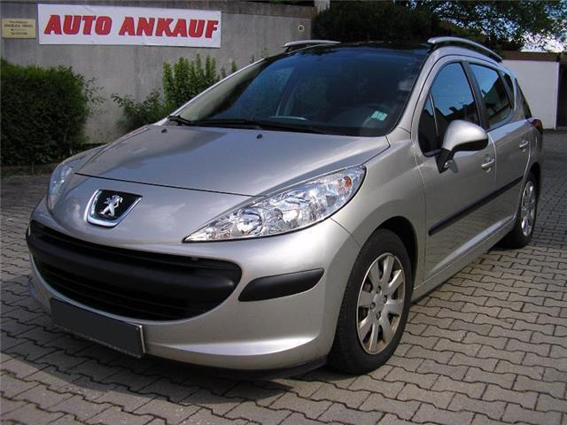 verkauft peugeot 207 95 vti tendance p gebraucht 2008 km in planegg. Black Bedroom Furniture Sets. Home Design Ideas