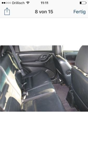 verkauft ford maverick allradantrieb a gebraucht 2002 km in elsterwerda. Black Bedroom Furniture Sets. Home Design Ideas