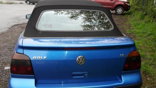 verkauft vw golf cabriolet gebraucht 2002 km in. Black Bedroom Furniture Sets. Home Design Ideas