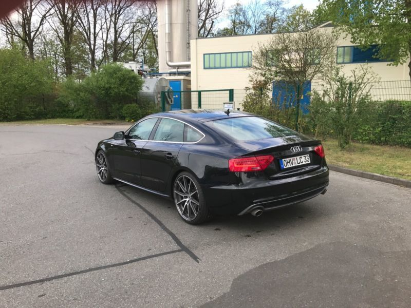 verkauft audi a5 sportback 3 0 tdi qua gebraucht 2010. Black Bedroom Furniture Sets. Home Design Ideas
