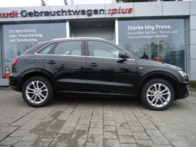 verkauft audi q3 s line 2 0 tdi s line gebraucht 2014. Black Bedroom Furniture Sets. Home Design Ideas