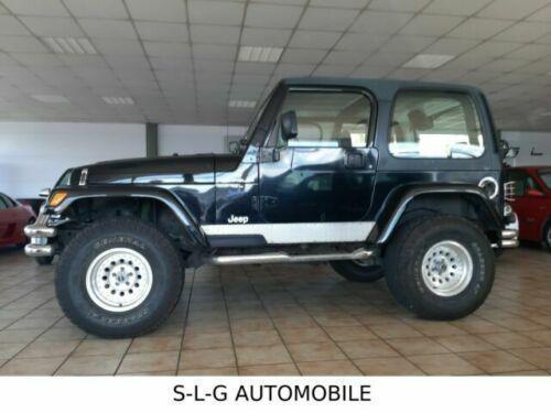 Jeep Wrangler 40 Autogashybrid Lpg 177 Ps 1998 Spare