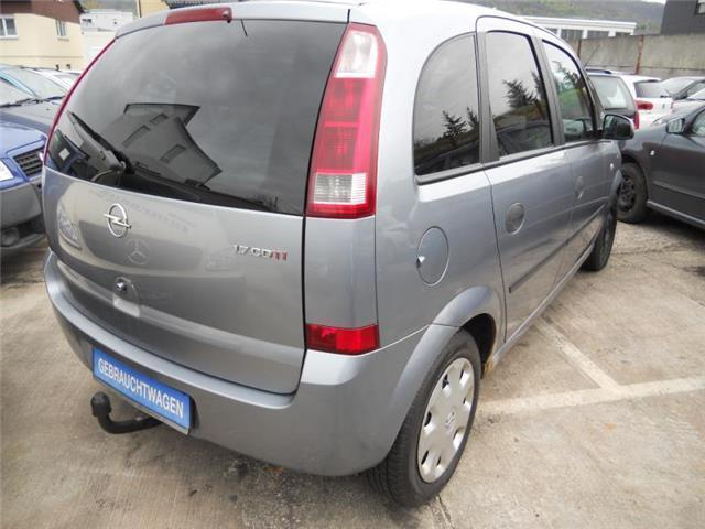 verkauft opel meriva 1 7 cdti enjoy gebraucht 2004 km in dettingen erms. Black Bedroom Furniture Sets. Home Design Ideas