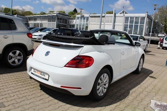 verkauft vw beetle cabriolet 1 2 tsi b gebraucht 2015. Black Bedroom Furniture Sets. Home Design Ideas