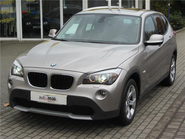 verkauft bmw x1 xdrive20d automatik pa gebraucht 2010. Black Bedroom Furniture Sets. Home Design Ideas