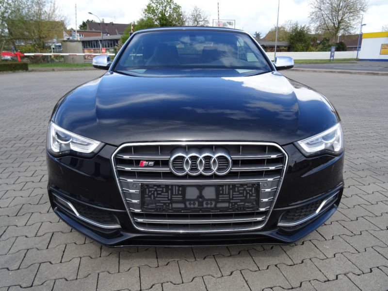 verkauft audi s5 cabriolet 3 0 tfsi qu gebraucht 2014 km in neuss. Black Bedroom Furniture Sets. Home Design Ideas