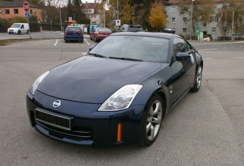 verkauft nissan 350z 350 z pack gebraucht 2008 km in cadolzburg. Black Bedroom Furniture Sets. Home Design Ideas