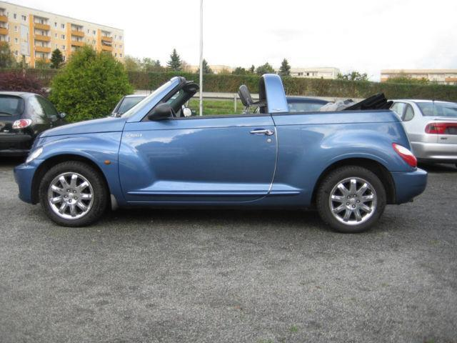 verkauft chrysler pt cruiser cabrio 2 gebraucht 2007. Black Bedroom Furniture Sets. Home Design Ideas