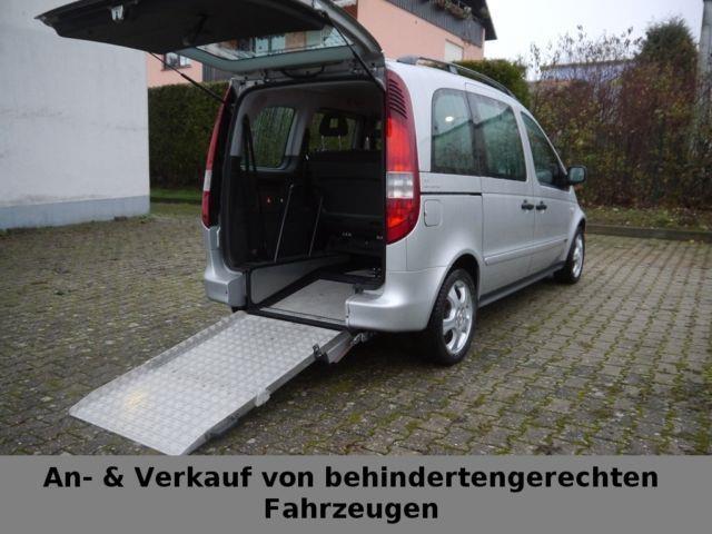 verkauft mercedes vaneo cdi 1 7 behind gebraucht 2004 km in w rzburg. Black Bedroom Furniture Sets. Home Design Ideas