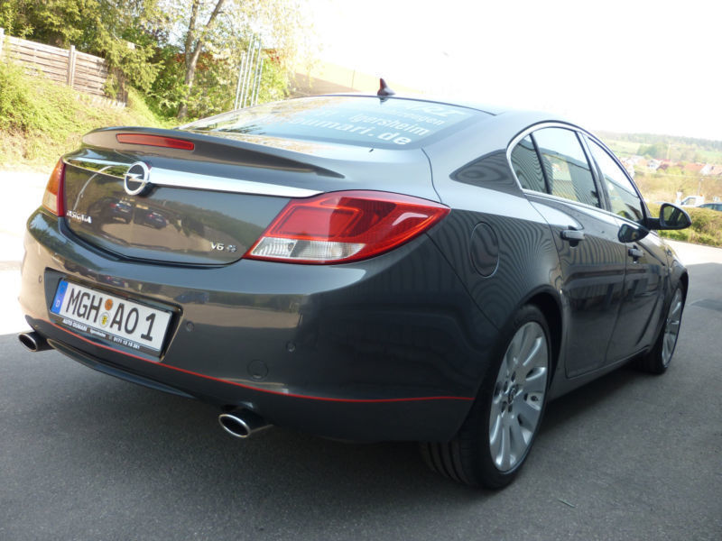verkauft opel insignia lim cosmo 4x4 gebraucht 2008 km in igersheim. Black Bedroom Furniture Sets. Home Design Ideas