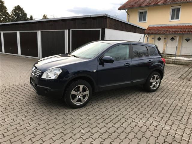 verkauft nissan qashqai 1 5 dci tekna gebraucht 2009 km in neufarn. Black Bedroom Furniture Sets. Home Design Ideas