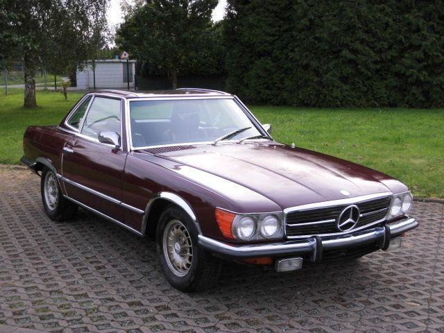verkauft mercedes sl350 w107 us import gebraucht 1972. Black Bedroom Furniture Sets. Home Design Ideas