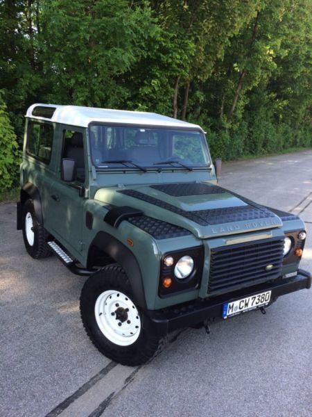 defender gebrauchte land rover defender kaufen 719 g nstige autos zum verkauf. Black Bedroom Furniture Sets. Home Design Ideas