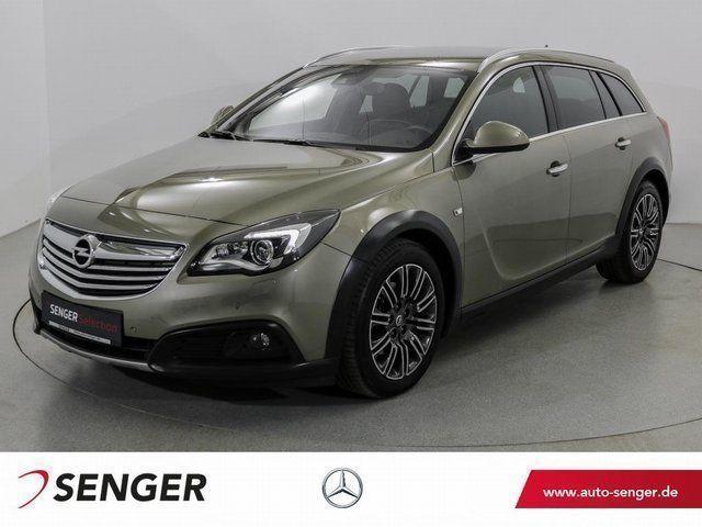 gebraucht Opel Insignia Country Tourer 2.0 CDTI 4x4 OPC Line PDC Rückfahrk.