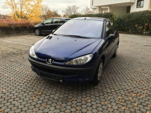 verkauft peugeot 206 75 automatik prem gebraucht 2003 km in schwandorf. Black Bedroom Furniture Sets. Home Design Ideas