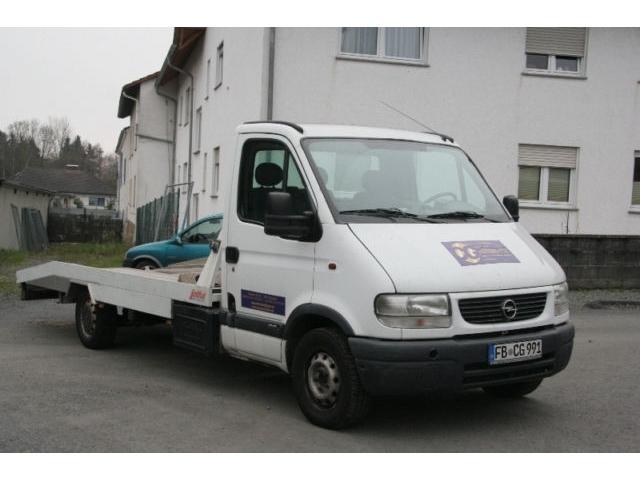 verkauft opel movano 2 8 dti abschlepp gebraucht 2002 km in butzbach. Black Bedroom Furniture Sets. Home Design Ideas