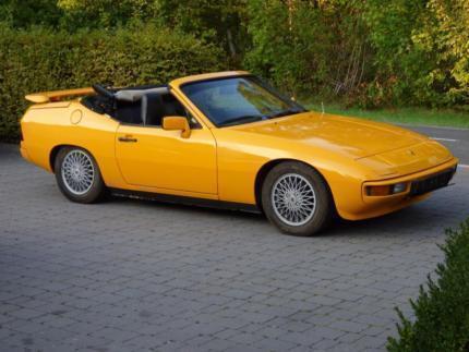 verkauft porsche 924 bieber cabrio gebraucht 1977 144. Black Bedroom Furniture Sets. Home Design Ideas