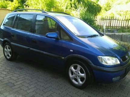 verkauft opel zafira a 2 2 gebraucht 2002 km in stettfeld. Black Bedroom Furniture Sets. Home Design Ideas