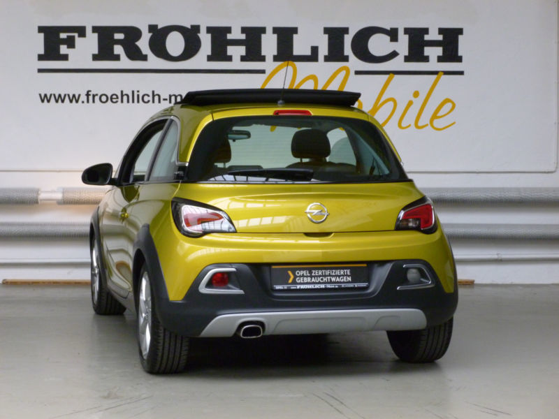 verkauft opel adam rocks rocks 1 4 eco gebraucht 2015 km in wuppertal. Black Bedroom Furniture Sets. Home Design Ideas