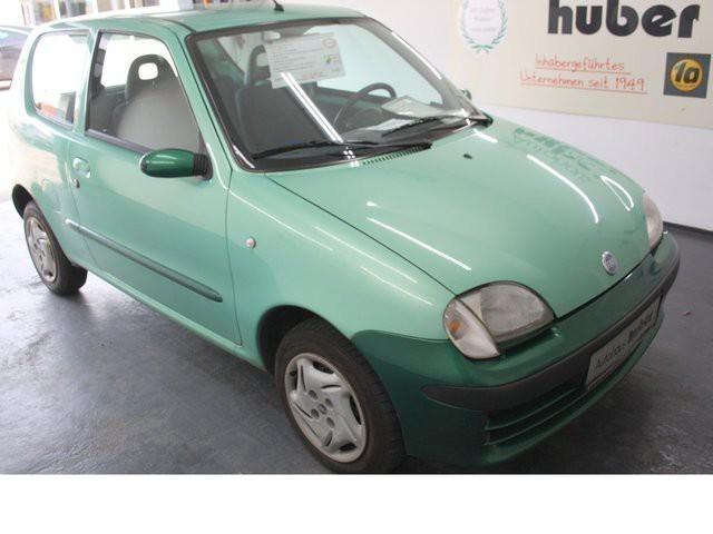 verkauft fiat seicento servo 2 airbag gebraucht 2002. Black Bedroom Furniture Sets. Home Design Ideas