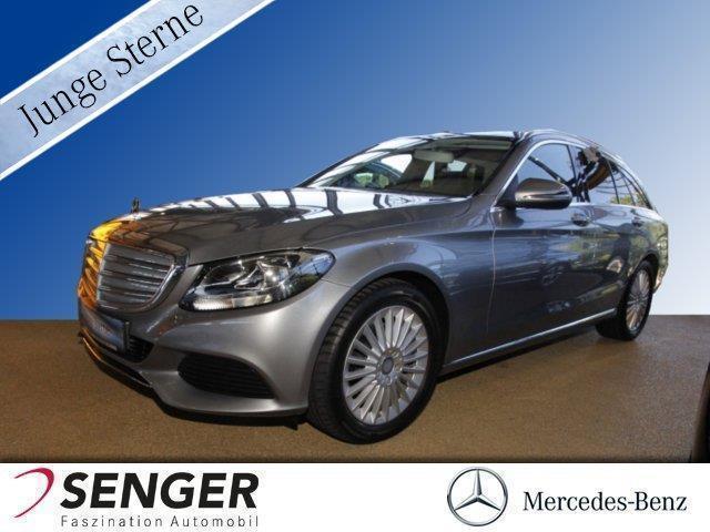 gebraucht Mercedes C220 T d Exclusive,Airmatic,AHK,Leder,Sitzheiz Klima