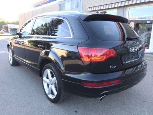 verkauft audi q7 3 0 tdi quattro s lin gebraucht 2006 km in hurlach. Black Bedroom Furniture Sets. Home Design Ideas