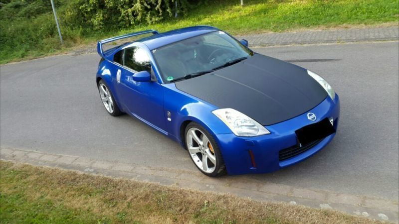 verkauft nissan 350z gebraucht 2004 km in hermeskeil. Black Bedroom Furniture Sets. Home Design Ideas