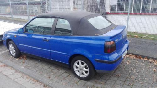verkauft vw golf cabriolet sitzheizung gebraucht 2000 km in mainz. Black Bedroom Furniture Sets. Home Design Ideas