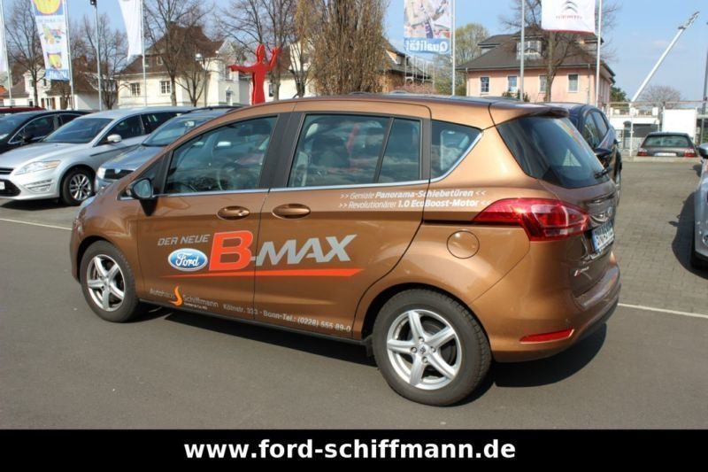 verkauft ford b max titanium kurzzulas gebraucht 2013 km in bonn. Black Bedroom Furniture Sets. Home Design Ideas